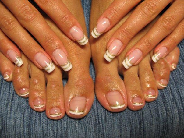 Красивые ногти.