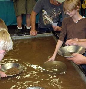 Шлиховой метод в поисках редких металлов