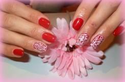 Маникюр гель-красками для ногтей в домашних условиях
