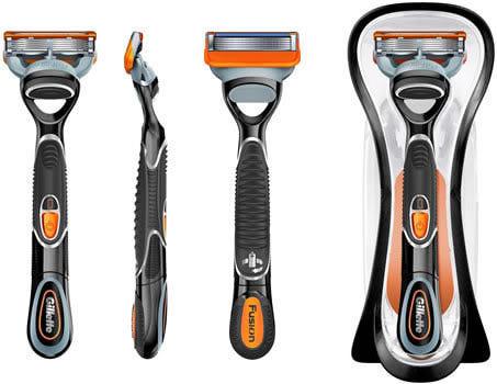 Gillette Fusion Power – лучшие лезвия для идеального бритья